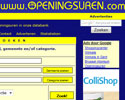 Thumbnail project Openingsuren.com